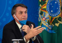 President Jair Bolsonaro and Health Minister Luiz Henrique Mandetta Hold a Press Conference about the Coronavirus (COVID-19)