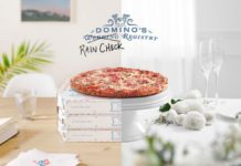 Domino's Pizza Rain check