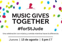 Music Gives Together St Jude